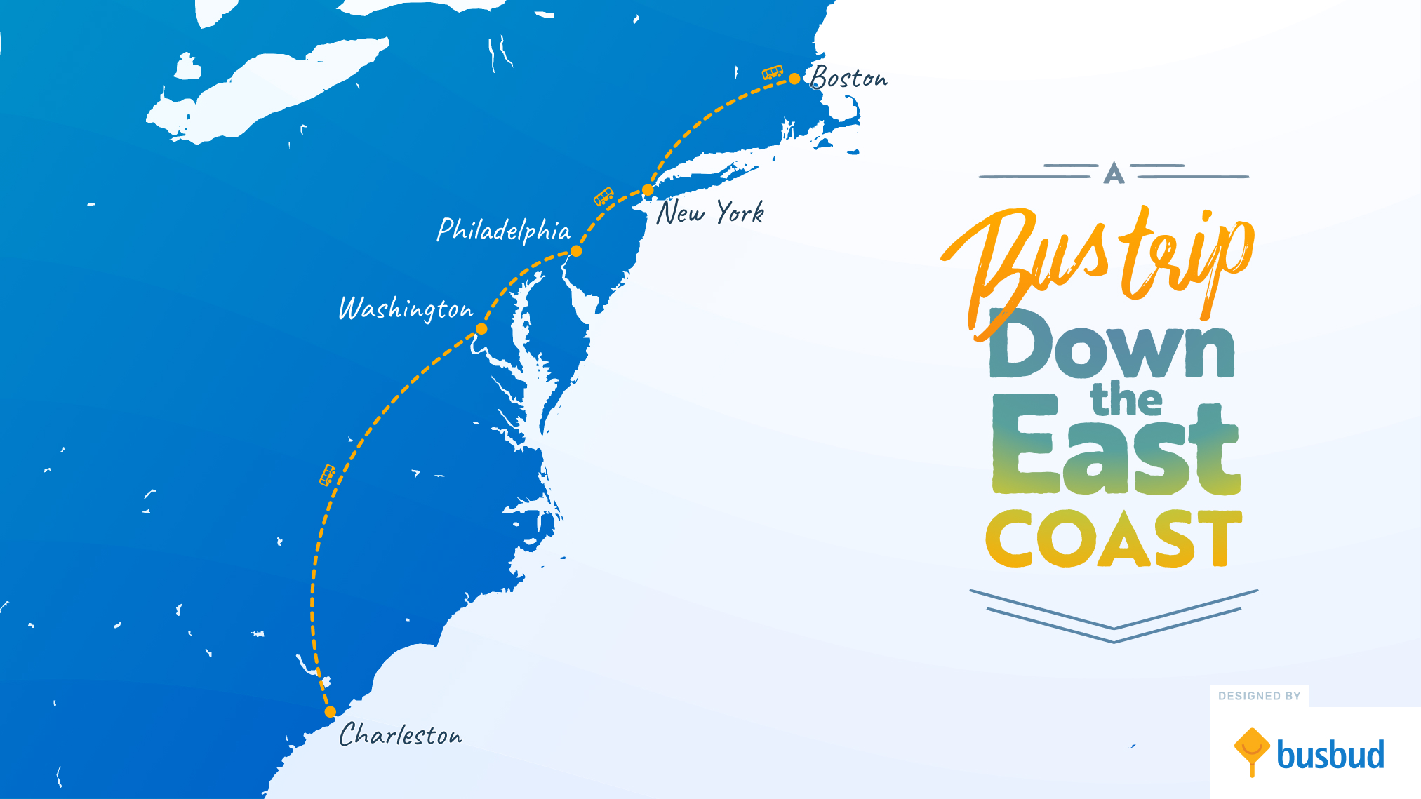 The Ultimate East Coast Road Trip By Bus Busbud Blog